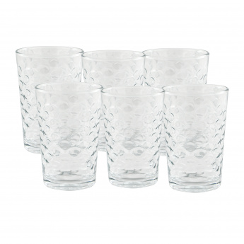Crystal Sedef 6-Piece Tumbler Set - 205 ml