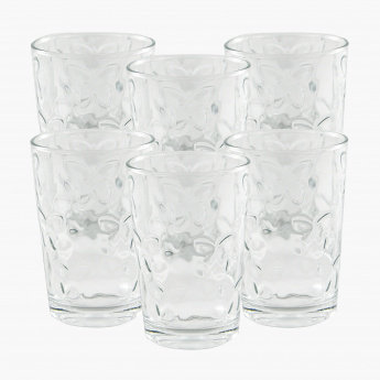 Crystal Kelebek 6-Piece Tumbler Set - 205 ml