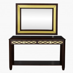 Claymont Console Table with Mirror