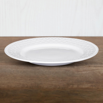 Bella Embossed Side Plate  - 19 cms