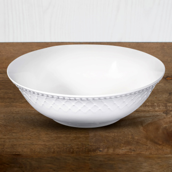 Bella Embossed Salad Bowl  - 23 cms