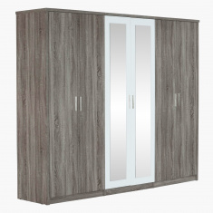 Marisa New 6-Door Wardrobe with Mirrors