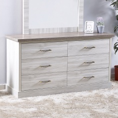 Angelic 6 Drawers Master Dresser