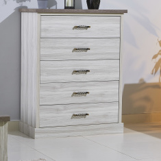 Angelic 5-Drawer Chest of Drawers