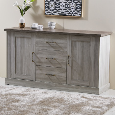 Angelic 3-Drawer 2-Door Sideboard
