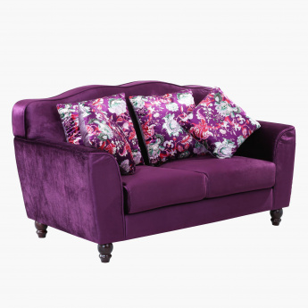 Lukenz 2-Seater Sofa with 4 Cushions