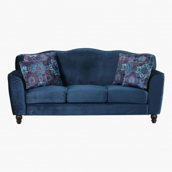 Lukenz 3 Seater Sofa with Cushions