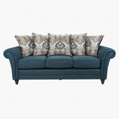 Harvest 3-Seater Sofa with 5 Cushions-