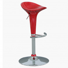 Groom Height Adjustable Bar Stool with Footrest