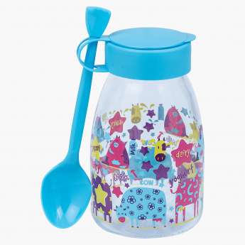Nova Yogurt Bottle with Spoon - 0.37 L