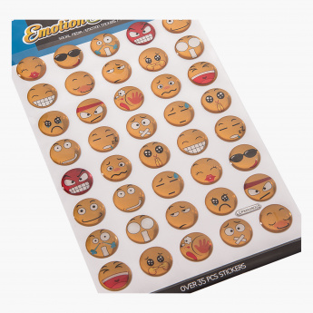 Emotion Epoxy Sticker - 19x10.5 cms