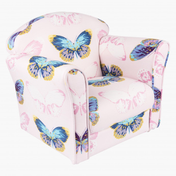 Butterfly Printed Kids Chair
