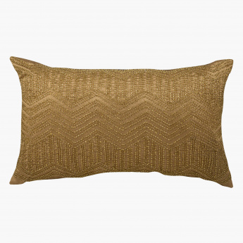 Chevron Filled Cushion - 30x50 cms