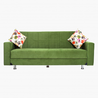 Zeus Sofa Bed with 2 Cushions