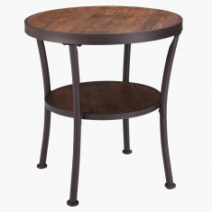 Apollo Victoria End Table with Undershelf