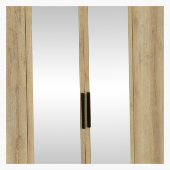 Lukenz 6 Door Wardrobe With 2 Mirrors