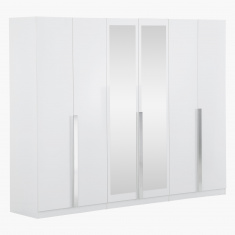 Picasso 6 Door Wardrobe with Mirrors