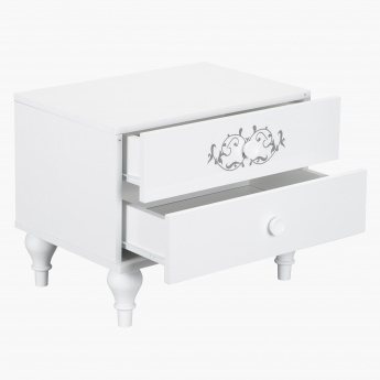Island 2 Drawer Night Stand