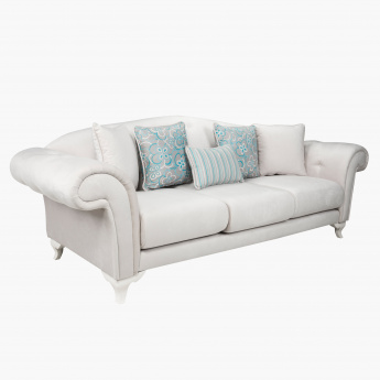 Melissa 3-Seater Sofa with 5 Cushions