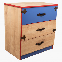 Sea Rover 3-Drawers Dresser