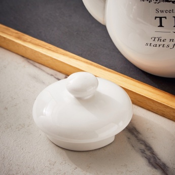 Sweet Home Tea Pot
