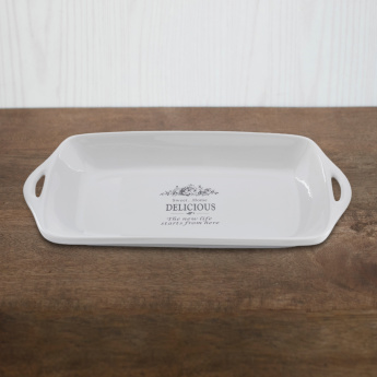 Sweet Home Serving Plate - Large