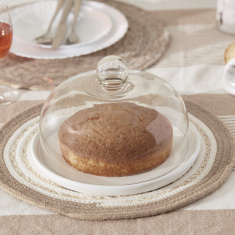 Sweet Home Cake Plate with Lid