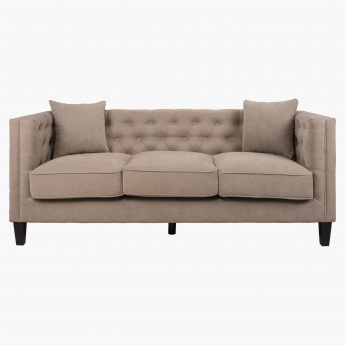 Crofton 3-Seater Sofa with 2 Cushions