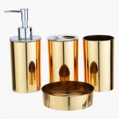 Tamara 4-Piece Bathroom Accessories Set