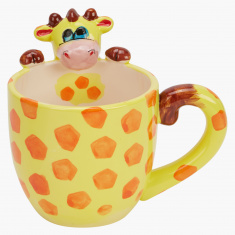 Giraffe Printed Mug - 295 ml