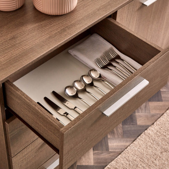 Cathy Maltino 4-Drawer 2-Door High Sideboard