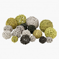 Silas Decorative Balls in Bag