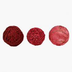 Fuzio Decorative Ball - Set of 3