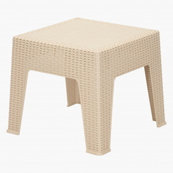 Elena Rattan End Table