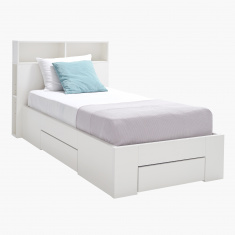 Oslo Storage Single Bed with 3 Drawers - 90x200 cms