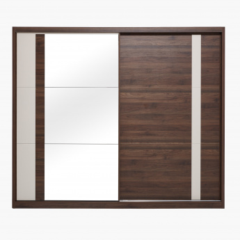 Valentina Large Sliding Door Wardrobe with Mirror