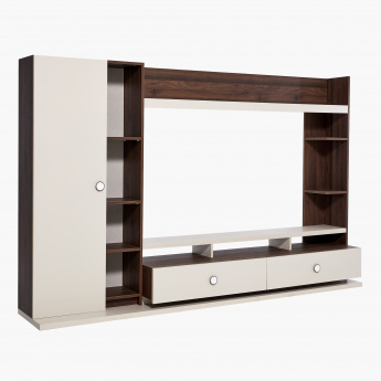 Valentina 1-Door 2-Drawer Wall Unit