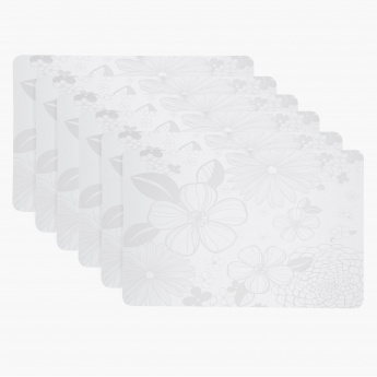 Blossom Placemat and Coaster Set of 12 pcs