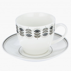 Sapphire 12-Piece Cup and Saucer Set