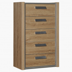 Cementino 5-Drawer Chest of Drawers