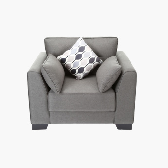 Alena Single Seater Sofa with 3 Cushions