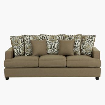 Cindy Textured 3-Seater Sofa