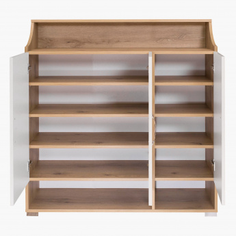 Latina 3-Doors Shoe Cabinet