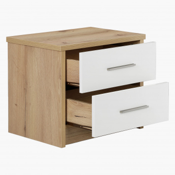 Latina 2-Drawer Night Stand
