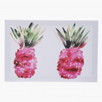 Pink Pineapple Picture Frame