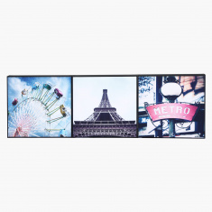 Bon Voyage Europe Framed Picture - Set of 3
