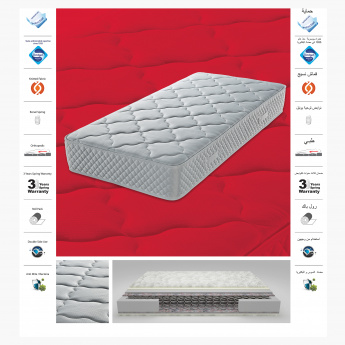 Solo Spring Mattress Packed in the Box - 120x200x22 cms