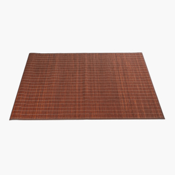 Bamboo Stitch Detail Rug - 120×170 cms