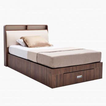 Valentina Hydraulic Storage Bed with 1 Drawer - 120x200 cms