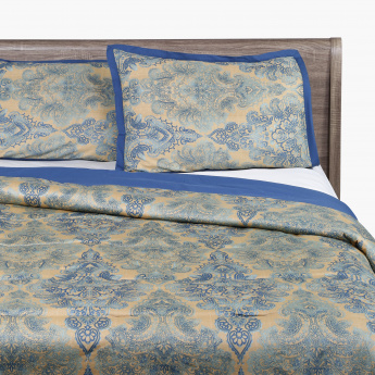 Hedda Printed King 3-Piece Comforter Set